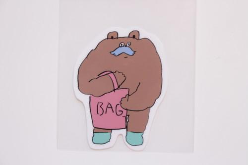 松岡マサタカ シール(BAG)