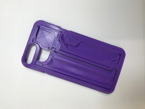 iPhone 7/8  Plus 用 GRIPL (パープル)