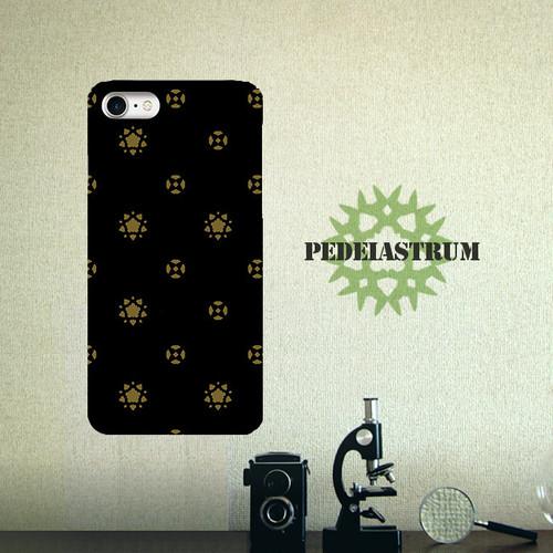 ペディアストラム(クンショウモ) ブラック スマホケース ハード iPhone/Android