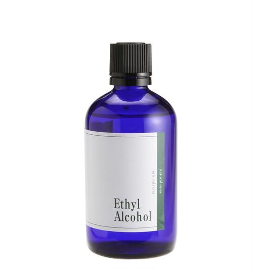 【ナチュラル・レナ】【日本製】【高純度・植物性発酵・無水エタノール・100ml】当製品は化粧品原料をアロマテラピー用の雑貨として製品化したものですnr-077