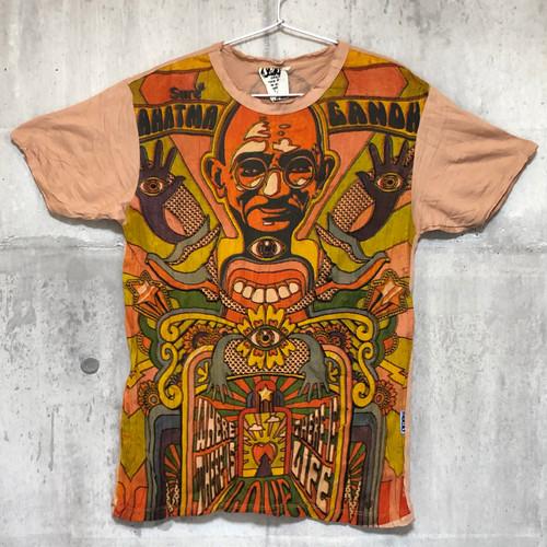 【送料無料】 MAHATMA GANDHI / Men's T-shirts M マハトマ・ガンジー / メンズ Tシャツ M