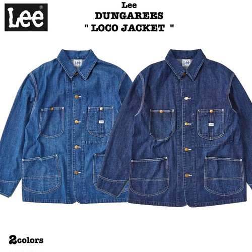 "20%0ff!! Lee / DUNGAREES ""LOCO JACKET"" 2colors リー / ロコ ジャケット/ カバーオール LT0659"