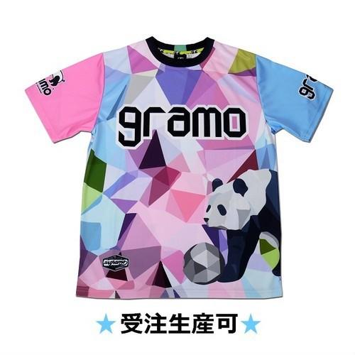 プラクティスシャツ「polygon」(ピンク・P-041)☆受注生産可☆