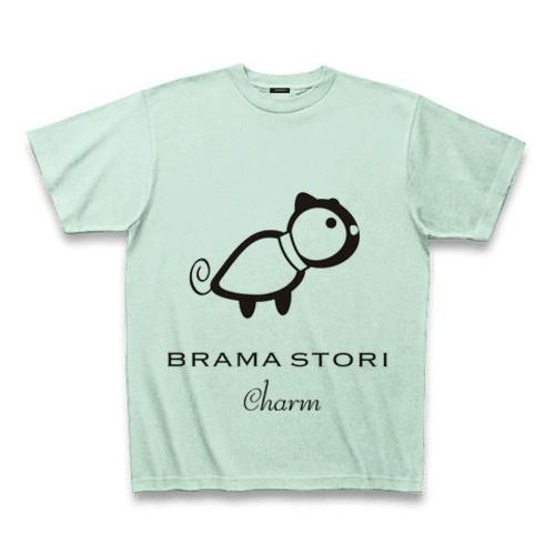 ブラマプリントPJ BRAMA STORI charm コットンTシャツ
