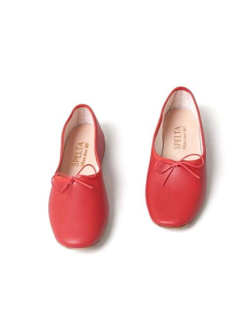 【SPELTA】BALLET SHOES /RED