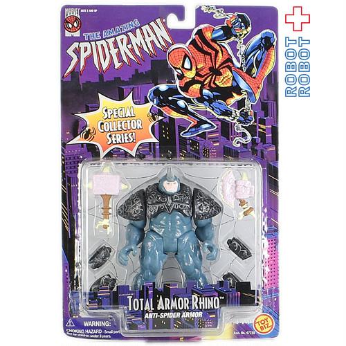 トイビズ 6インチフィギュア スパイダーマン トータル アーマー ライノ 対スパイダーアーマー