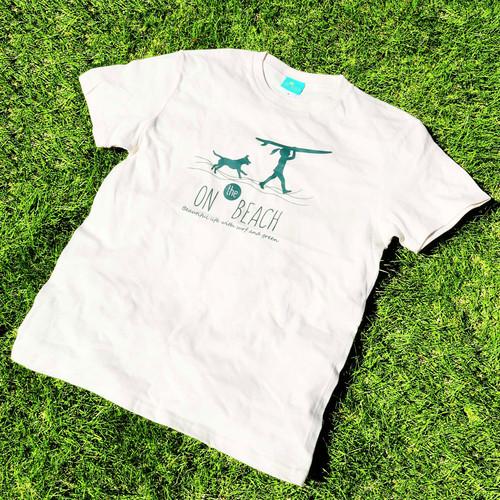 GIRL&DOG サーフTシャツ ナチュラル