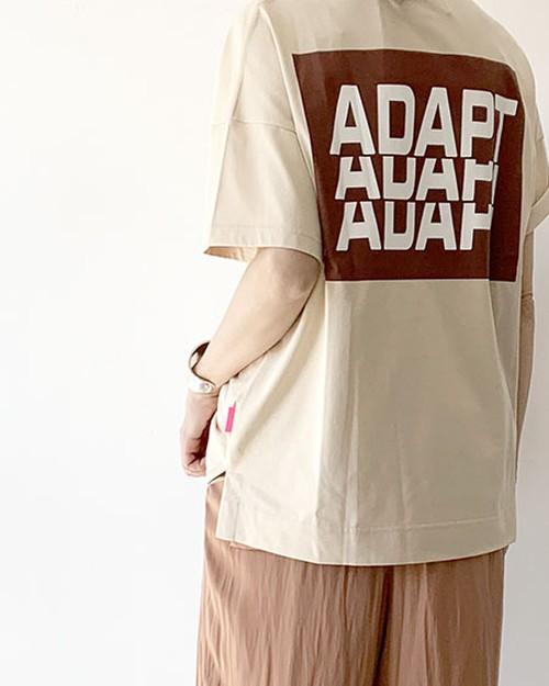 BIGロゴTシャツ(BE) / THOMAS MAGPIE