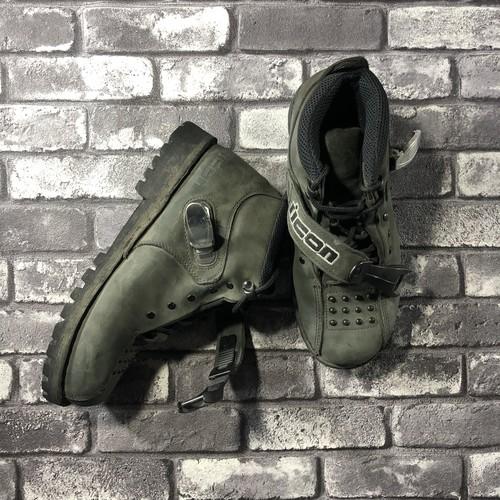 """ICON"" Biker Boots"