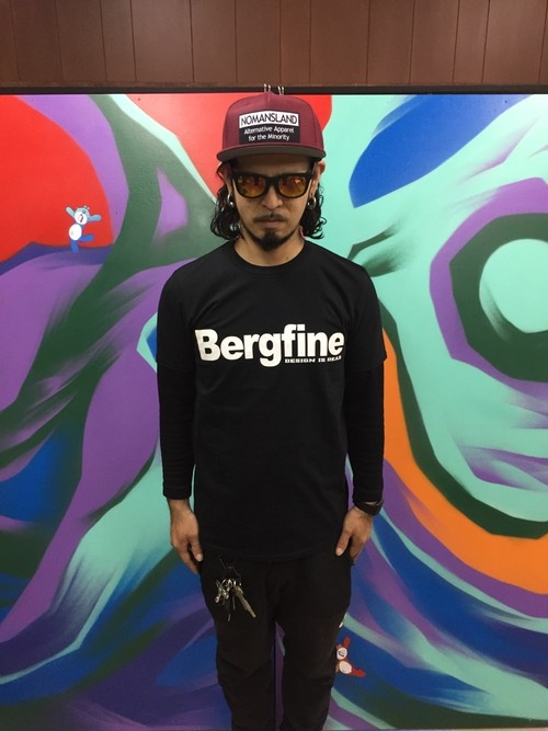 """Bergfine"" Official Tee (Black)"