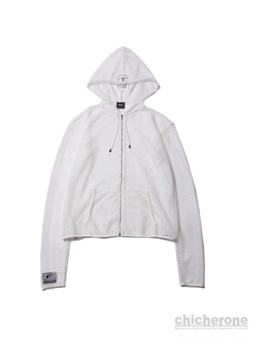 【SILLENT FROM ME】INVISIBLE -Net Ziphood- WHITE