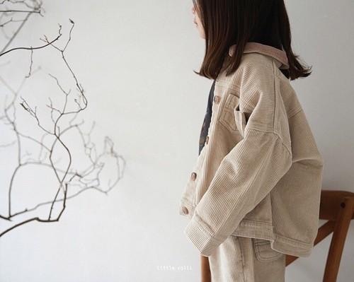 corduroy loose jacket
