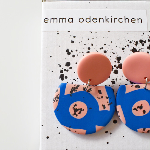 "Studio Emma Odenkirchen "" FLAMINGO EARRINGS "" ピアス"