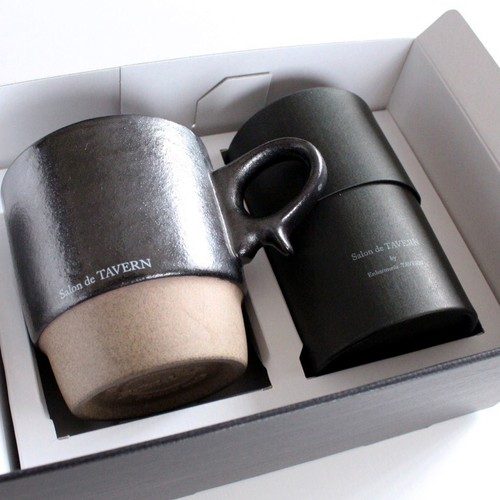 "Salon de TAVERN ""TEA&MAG"" SET / Cacao + Mug -Black"