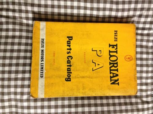ISUZU FLORIAN Parts Catalog 1968~1972