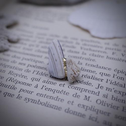 【 雨 氣 】耳飾り(pierce)06