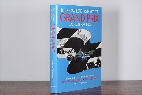 【VS025】The Complete History of Grand Prix Motor Racing /visual book