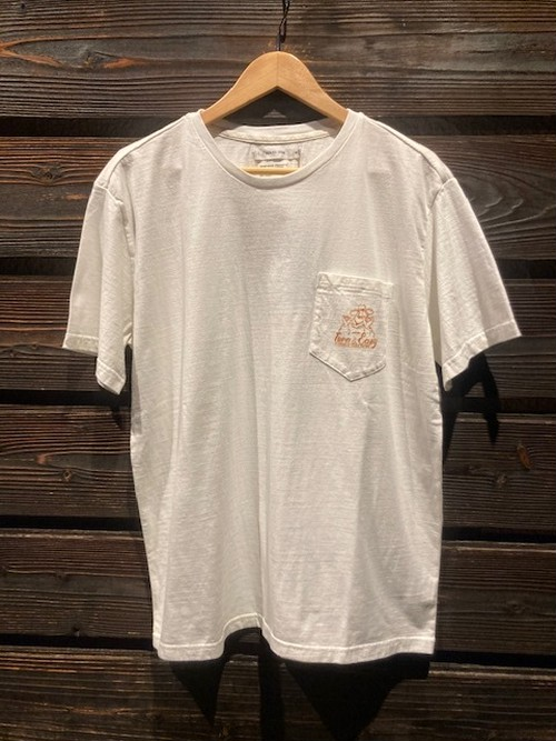 Turn Me On  S/S TEE『TURN&EASY』 collaboration with redrope(WHITE2)  121-445