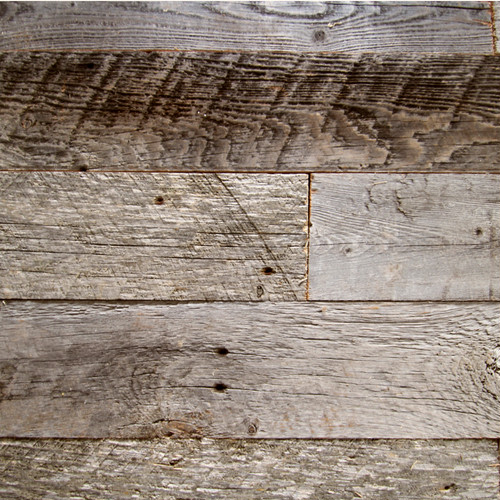 Reclaimed Slice  -Silver Gray-