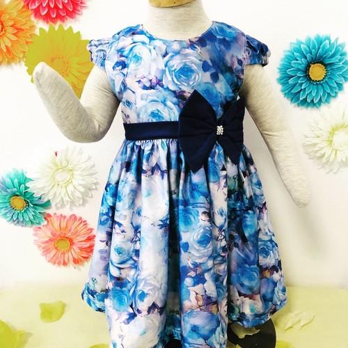 SOLBONITO ベビー用ドレス ブールーローズ