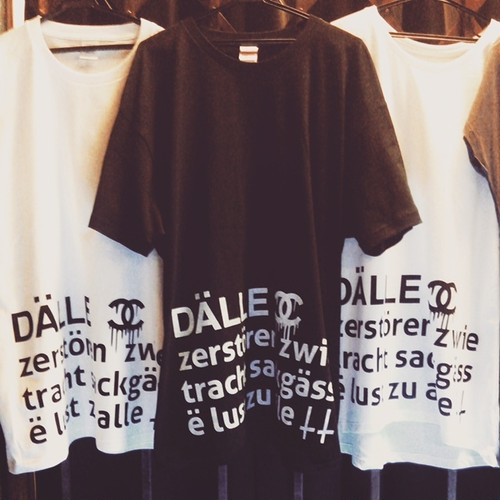 【DALLE】big tee / 2nd <black・XXL>