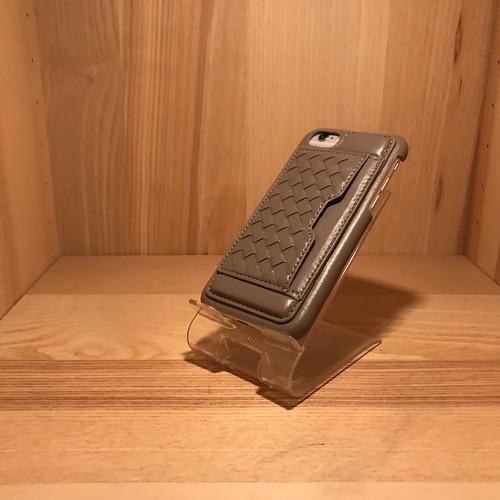 編み込みカードポケットケース iP7-0031 iPhone7