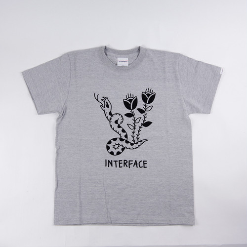 "INTERFACE  "" SNAKE ""  TEE SHIRTS"