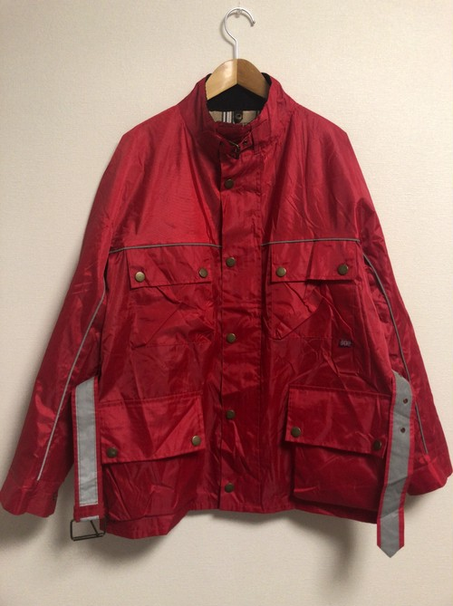 90's waterproof reflector jacket