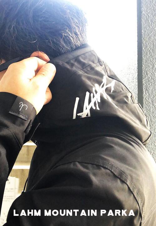 【次回入荷待ちです】LAHM mountain parka/マウンテンパーカー LAHM/エルエーエイチエム