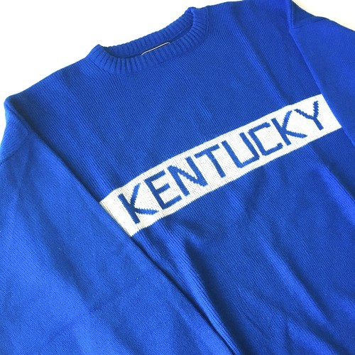 Mc Briar : 「KENTUCKY」lettered knit (used)