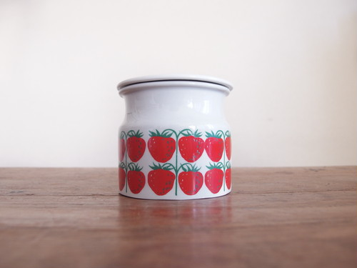 SOLD OUT ARABIA POMONA JAM JAR / STRAWBERRY