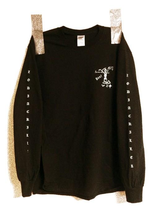 ZODIAC KILLER L/S t-shirt (BLACK)