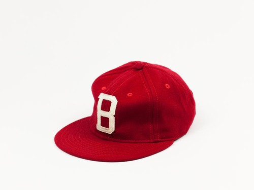 MINOR LEAGUE WOOL BALL CAP - RED
