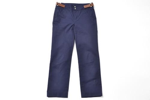 POLO GOLF size00 leather belt pants