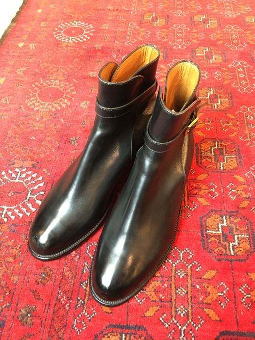 .JM WESTON LEATHER JODHPURS BOOTS MADE IN FRANCE/ジェイエムウェストンレザージョッパーズブーツ 2000000046365