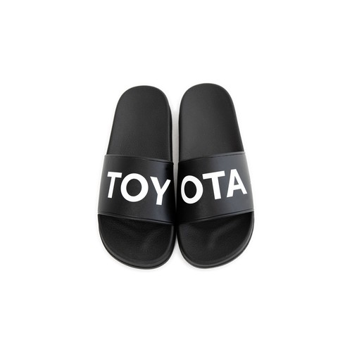 "TOYOTA ""TOY-OTA"" Slider Sandals"