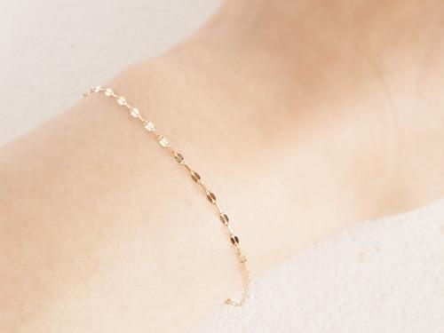 K10 Wave Chain Bracelet