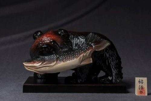 鮭喰い熊6寸〈黒〉-45