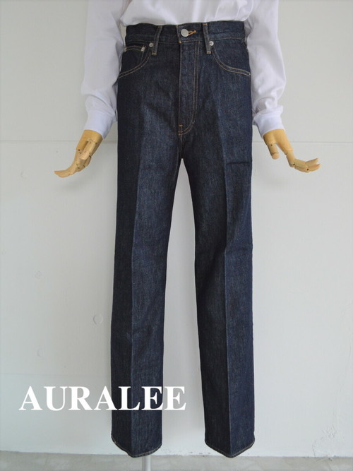 AURALEE/オーラリー ・HARD TWIST DENIM 5P PANTS INDIGO