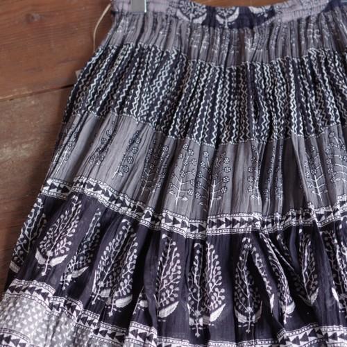 India Cotton Skirt / インド綿 コットン スカート