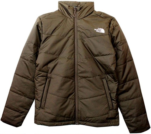 THE NORTH FACE ザノースフェイス ロゴ刺繍 中綿ジャケット ジップアップジャケット M JUNCTION INSULATED JACKET NEW TAUPE GREEN 9119630 [並行輸入品]