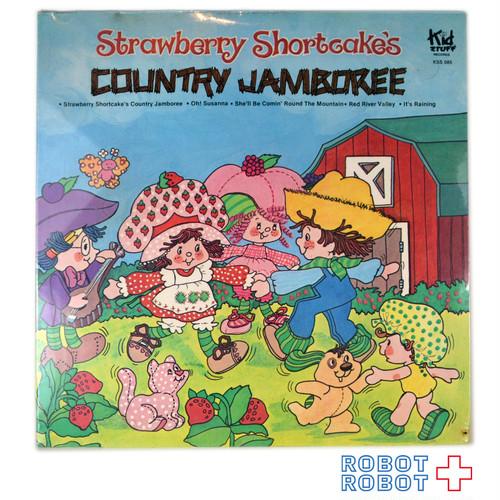 ストロベリーショートケーキ LPレコード カントリージャンボリー