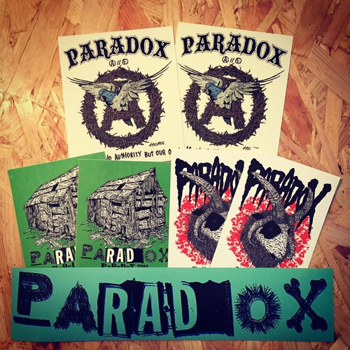 PARADOX Sticker pack