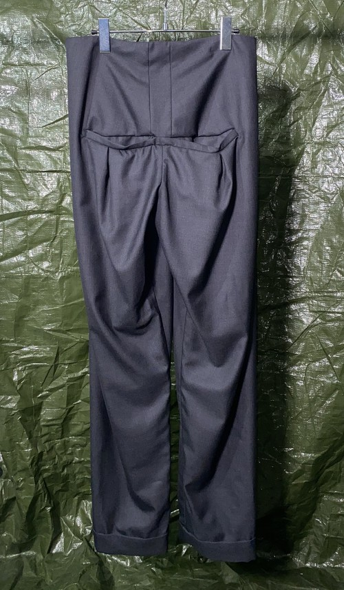 AW2015 AND RE WALKER CENTER POCKET TROUSERS