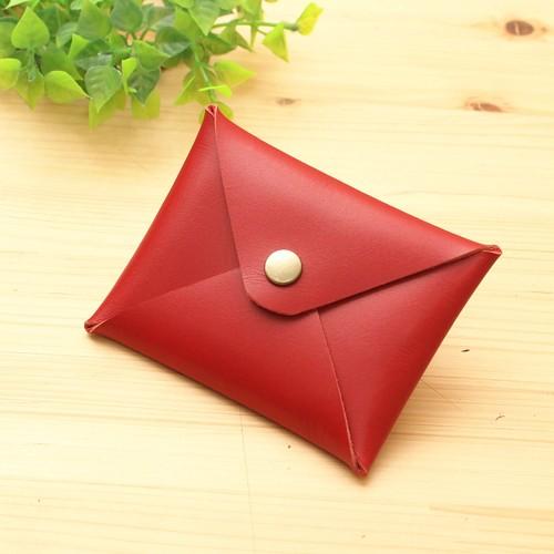 【納期1日】レッド・レターデザインの名刺&カードケース入れ