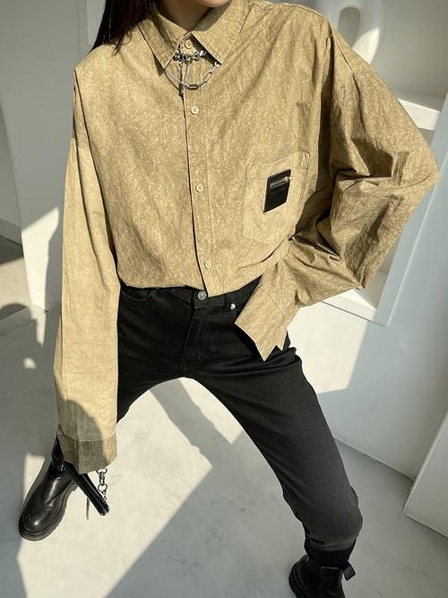 ビンテージペーパーライクシャツ 135