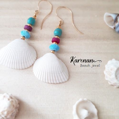 natural shell pierce
