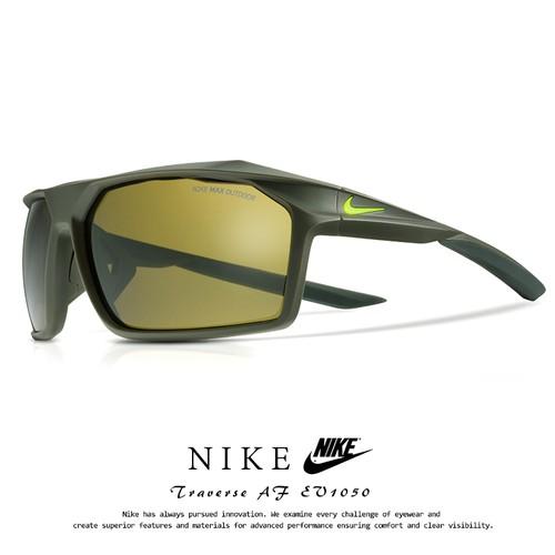 ナイキ サングラス EV1050 339 TRAVERSE AF NIKE [ ランニング ゴルフ 自転車 ドライブ にオススメ ] ev1050 traverse af Outdoor Tint Lens メンズ 男性用 スポーツサングラス アウトドア