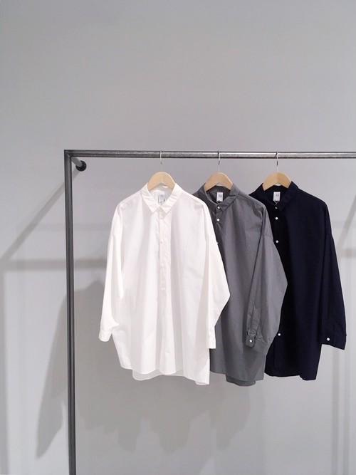 【NO CONTROL AIR】ピマコットン タイプライター ワイドシャツ/S8-NC144SF