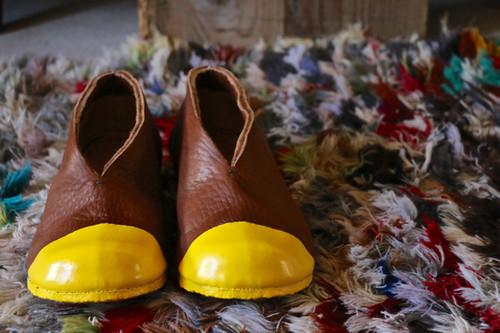イレギュラーシリーズ【 一枚革・まるでコッペパンのような靴 / 23cm / MUKU / kokochi sun3 】